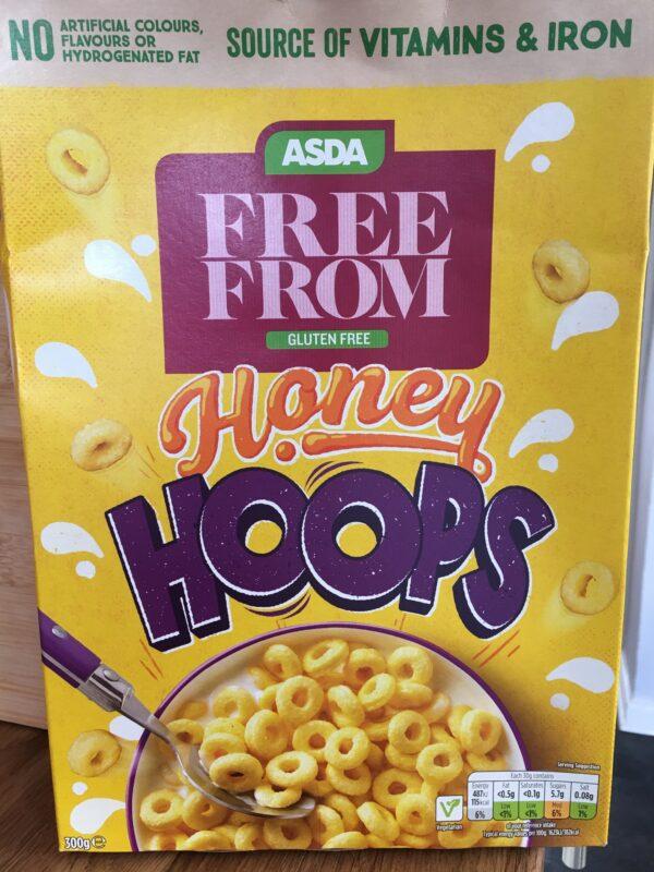 Asda Free From Honey Hoops